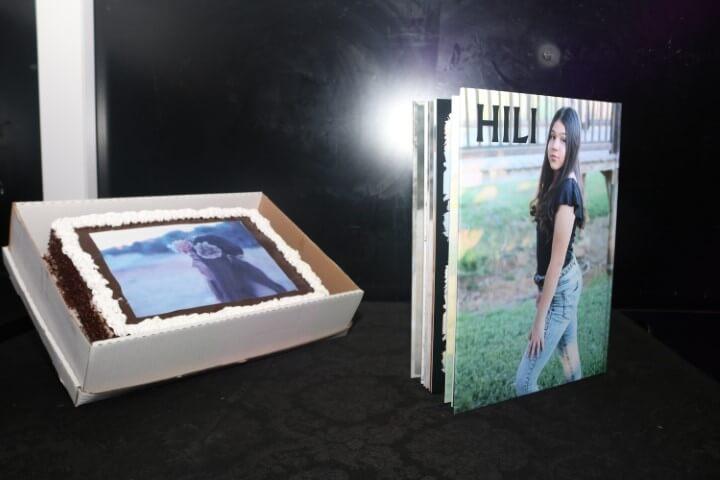 עוגה עם תמונה לחוגגת בת מצווה